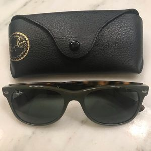 "VGUC Ray-Ban ""New Wayfarer"" Sunglasses"